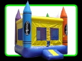 Where to rent Inflatable Moonwalk- Crayon in South Chicago Heights IL