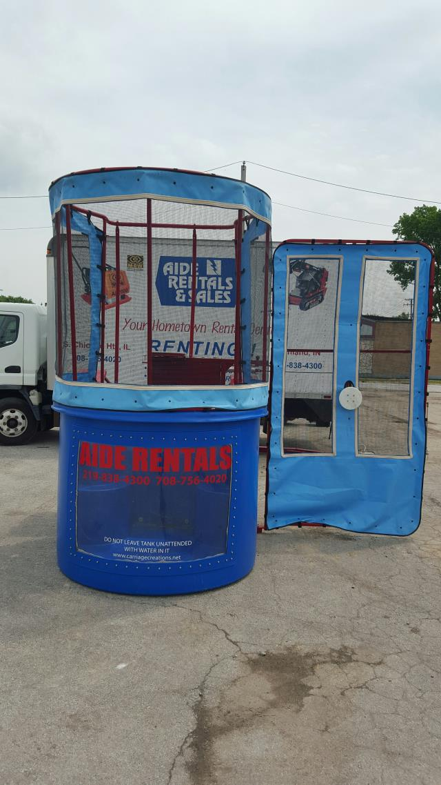 Where to find Dunk tank in South Chicago Heights