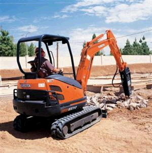 Where to find Compact-Mini Excavator w  hammer in South Chicago Heights