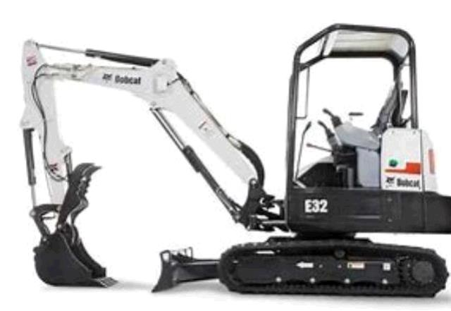 Where to find Mini Excavator Track Backhoe in South Chicago Heights
