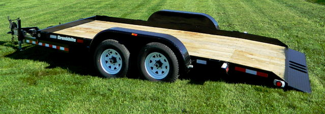 Where to find Trailer-bobcat tilt bed w  machine in South Chicago Heights